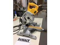 Dewalt DW 707 sliding mitre saw