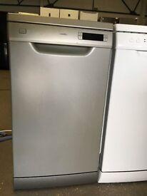 KENWOOD KDW45S15 Slimline Dishwasher Silver 9 Litres