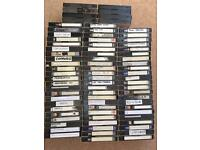 Pre-recorded VHS films / series' from TV