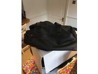 Men's black firetrap bag