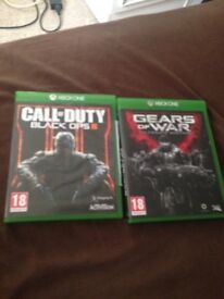 Call of duty black ops 3 and gears of war ultimate edition