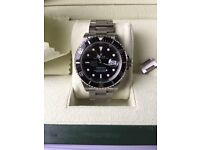 ROLEX SUBMARINER 16610 2007 Z (GENUINE) SALE OR WILL SWAP / PX FOR CAR