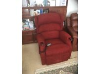 electric recliner with riser function chair