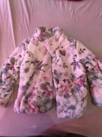 Girls designer mayoral jacket age 7