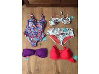 Size 14 mix swimwear all new with tags!