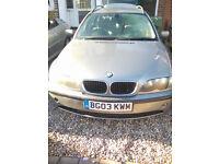 03 reg BMW Diesel Auto Estate 12 months MOT