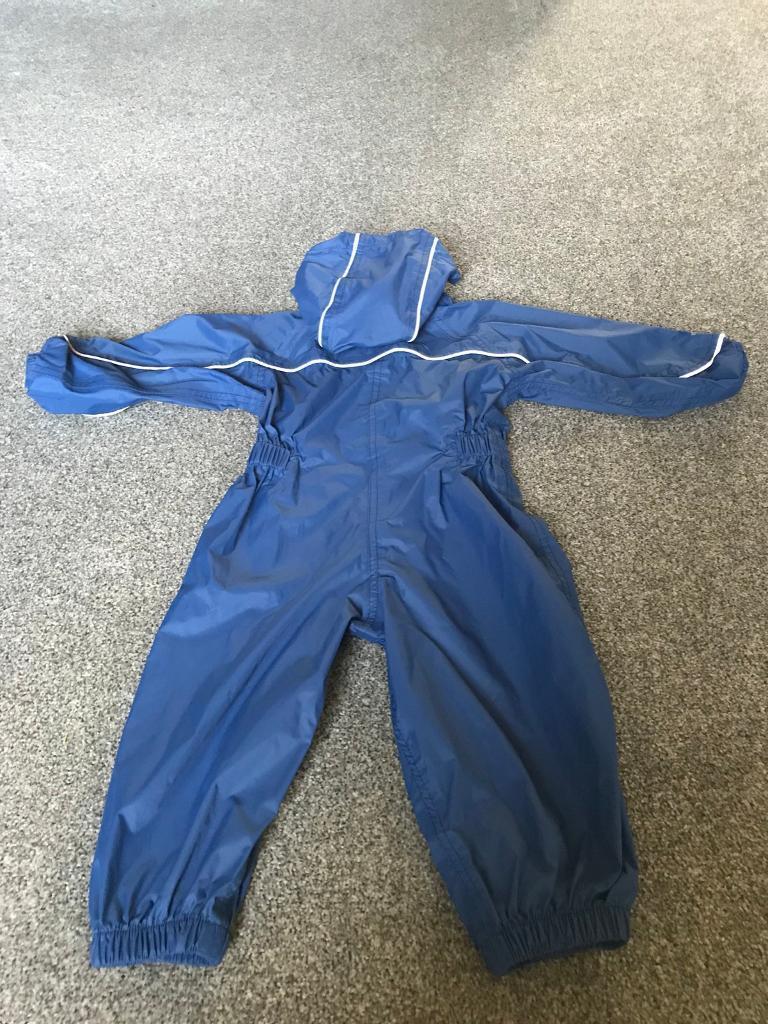 Regatta waterproofs / rain suit age 1-2