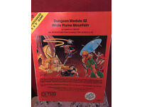 Dungeons and Dragons Advanced D&D Dungeon Module S2 White Plume Mountain