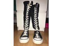 Knee High Converse £20 Size