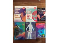 16 Medical textbooks for sale