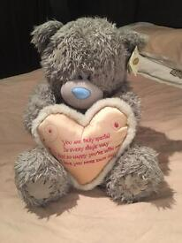 Me To You Bear - Heart with Text