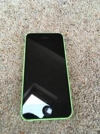 GREEN IPHONE 5C 16GB ON EE T-MOBILE ORANGE AND VIRGIN