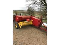 Ferguson t20 diesel and new Holland bail ( Massey John Deere tvo vintage tractor fiat )