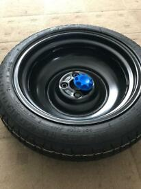 Toyota Yaris spare wheel and jack
