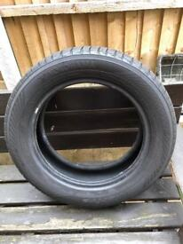2 winter tyres available (185/60R15) used once £10 each