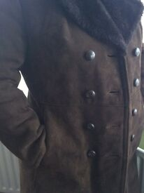 Very high quality real leather coat