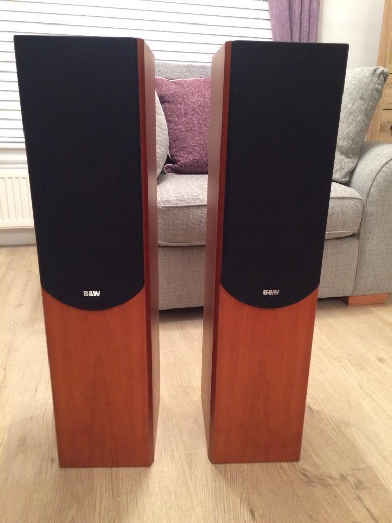 B&W Bowers & Wilkins P4 flooring standing speakers HIFI audiophile