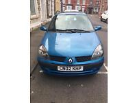 Renault clio 2002 1.2 16v dynamique with 9 months mot £399