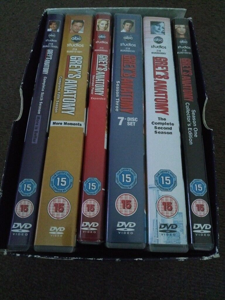 Grey's Anatomy seasons 1-6 [DVD] - £9