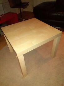 Square IKEA table