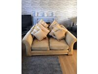 Free - 2 x 2 seater sofas in good condition buyer must collect.