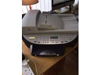 HP OFFICEJET 6110 ALL IN ONE PRINTER & FAX MACHINE Complete with Instructions