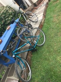 2 Bikes £40 each or £60 for both
