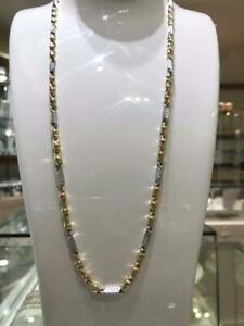 2 Tone 10k Gold Versace Chaine 26 inches 4.80 mm 17.2 gr Greater Montréal Preview