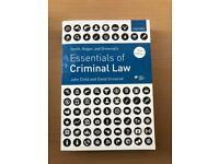 Smith, Hogan, & Ormerod's Essentials of Criminal Law Paperback John Child, Professor David Ormerod