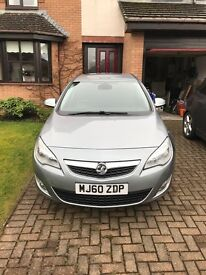 Vauxhall Astra SE Turbo, Silver