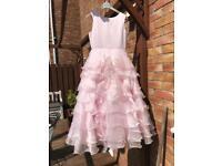 NOW REDUCED! Stunning Sarah Louise girls dress age 9 gala day prom bridesmaid flowergirl
