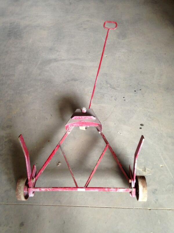 "Alemite Corporation 20""-23"" Diameter Drum Barrel Transportation Cart"