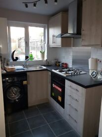 High spec newly plastered, decorated, new bathroom, new kitchen etc furnished house share. Must view