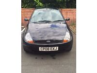 Ford Ka Style 2008 - black LOW MILEAGE