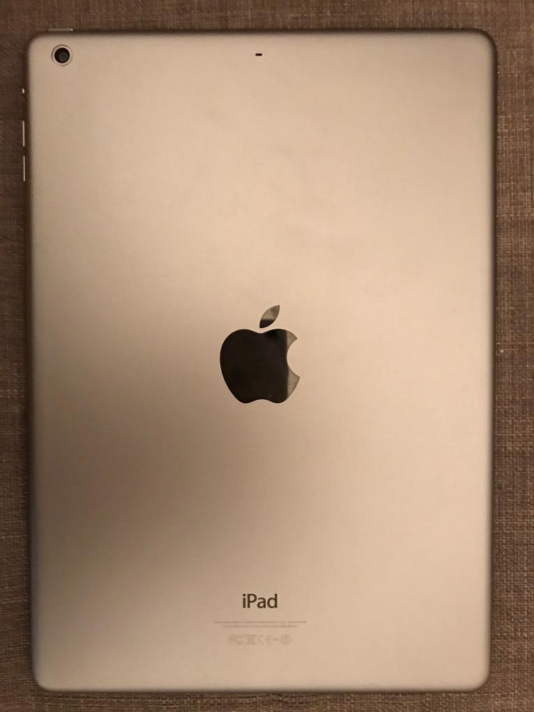 iPad Air 64GBin Notting Hill, LondonGumtree - Used iPad Air, 64gb, wifi. Space gray colour. Not damaged, perfect condition! Comes with a charger without the box