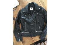 Leather Biker Jacket size 14 from Very