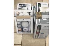 Joblot facial cleanser (battery operated)& electric toothbrushes