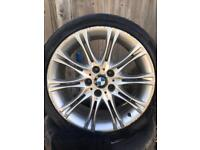 """BMW mv2 style 18"""" alloys tyres"""