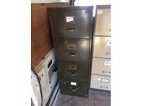 Retro heavy duty filing cabinet