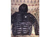 Black moncler jacket new unwanted