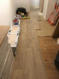 Brand new laminate flooring krono Swiss lion oak