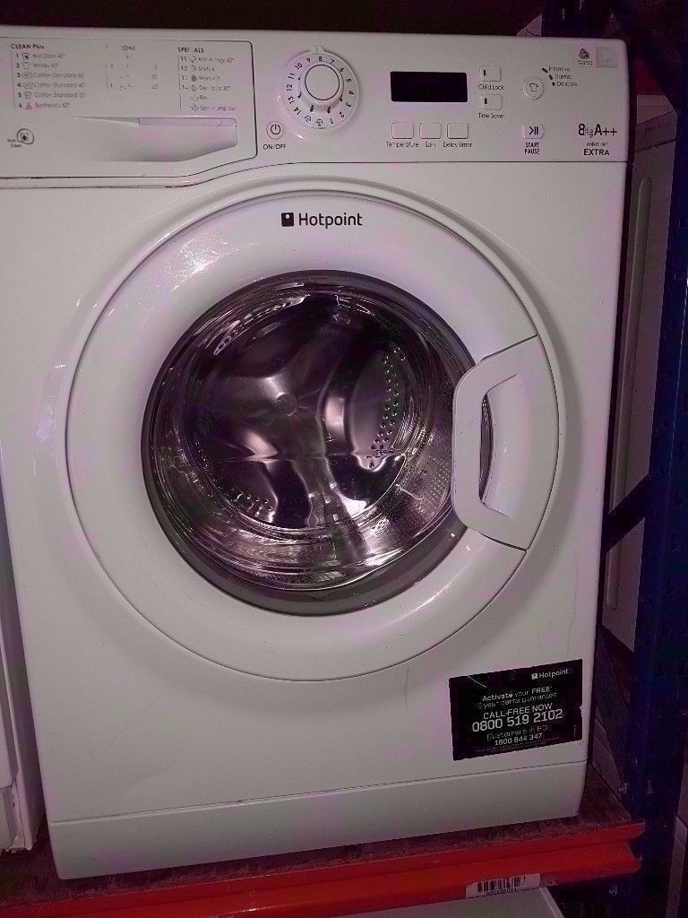 Hotpoint 8KG A++ Extra Washing Machine *** Excellent Condition ***