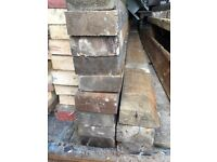 """Timber pine used 7"""" x 3"""" x 18ft long x 11."""