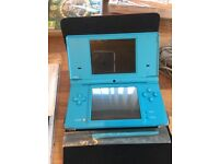 Nintendo dsi and games.