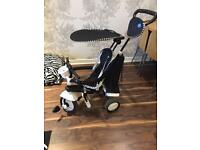 Smart Trike black and white almost new