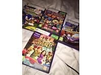 Xbox 360 Kinect and 4 games