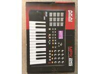 Akai Professional MPK 25 - USB/ MIDI Performance Keyboard
