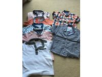 Boy bundle 3-4 years shirts