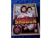 SHOGUN BOX SET DVDs (5 Discs)