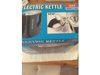 2X24v Truck/lorry kettles 1 New 1 Used Twice